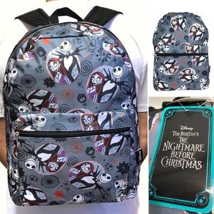 The Nightmare Before Christmas backpack book bag